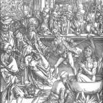 Альбрехт Дюрер, «Мучения евангелиста Иоанна»