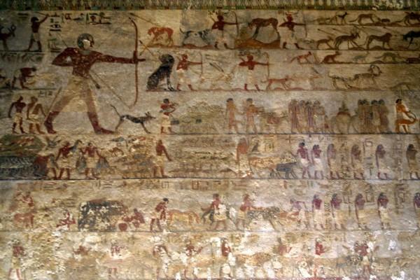 Beni Hassan, tombe de Khnoumhotep II