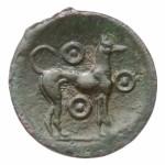 Монета Эриче, 410-400 г до н.э., серебро