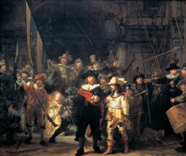 «Ночной дозор», 1642, Ремборандт Ха́рменс ван Рейн