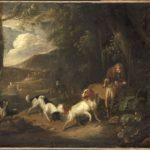 Английский спрингер-спаниель, Охотник с собаками (Beeldemaker, 1699)