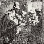 Рембрандт Ван Рейн, Бродячие музыканты