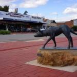 Монумент келпи в Австралии